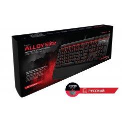 Фото Клавиатура Kingston HyperX Alloy Elite Cherry MX Red (HX-KB2RD1-RU/R1) Black