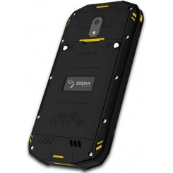 Фото Смартфон Sigma mobile X-treme PQ17 Black-Yellow