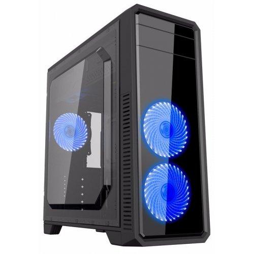 Фото Корпус GAMEMAX G561-F без БП (GMMC713717) Blue