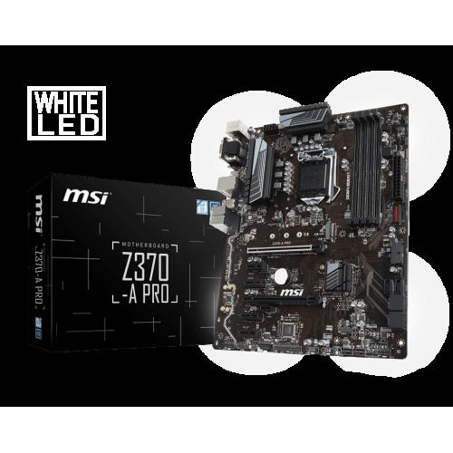 Фото Материнская плата MSI Z370-A PRO (s1151, Intel Z370)