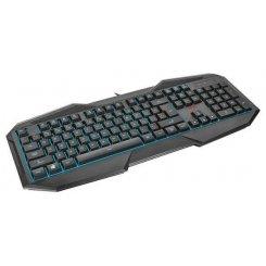 Фото Клавиатура Trust GXT 830 Gaming Keyboard UKR (21626) Black