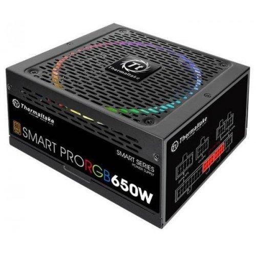 Фото Блок живлення Thermaltake SMART PRO RGB 650W (PS-SPR-0650FPCBEU-R)