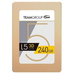 Фото SSD-диск Team L5 Lite Gold 240GB 2.5'' TLC (T253TD240G3C101)