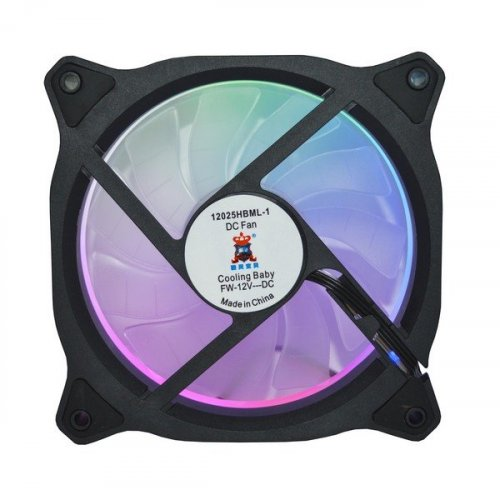 Фото Кулер для корпуса Cooling Baby 12025HBML-1 Multicolor