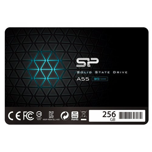 Фото SSD-диск Silicon Power Slim A55 256Gb 2.5