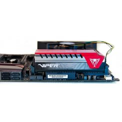 Фото ОЗУ Patriot DDR4 16GB (2x8GB) 2800Mhz Viper Elite Red (PVE416G280C6KRD)