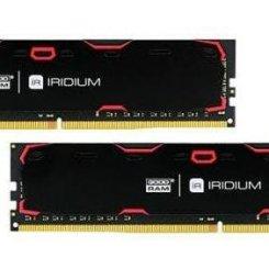 Фото ОЗУ GoodRAM DDR4 32GB (2x16GB) 2400Mhz Iridium Black (IR-2400D464L17/32GDC)