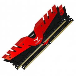 Фото ОЗУ Team DDR4 8GB (2x4GB) 2400Mhz Dark Red (TDRED48G2400HC14DC01)