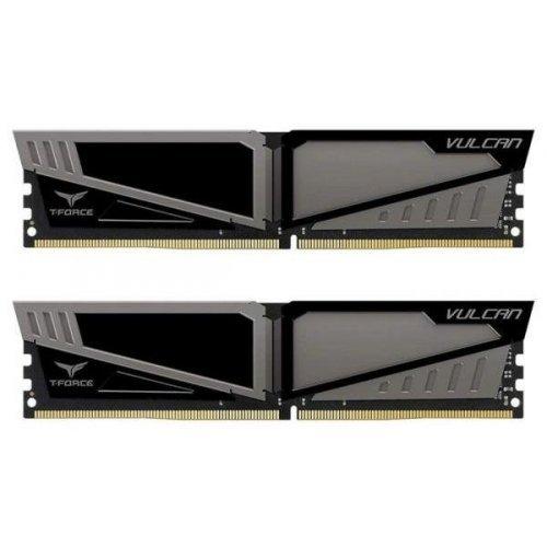 Фото ОЗУ Team DDR4 16GB (2x8GB) 3200Mhz T-Force Vulcan Gray (TLGD416G3200HC16CDC01)