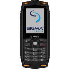 Фото Мобильный телефон Sigma mobile Х-treme DR68 Black-Orange