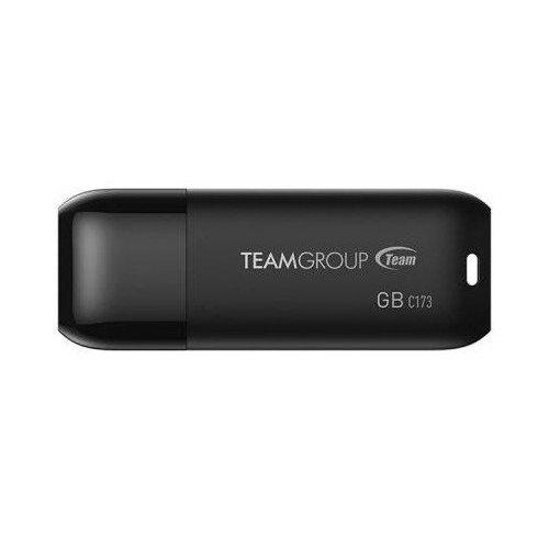 Фото Накопитель Team C173 64GB USB 2.0 Pearl Black (TC17364GB01)