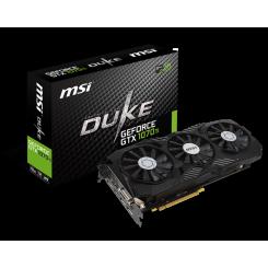 Фото Видеокарта MSI GeForce GTX 1070 TI DUKE 8192MB (GTX 1070 Ti DUKE 8G)