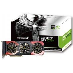 Фото Видеокарта Manli Geforce GTX 1070 TI Triple Cooler 8192MB (M-NGTX1070TI/5RGHDPPP)