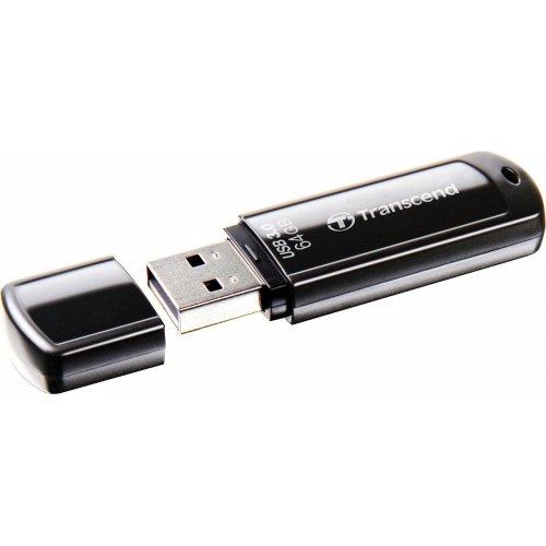 Фото Накопитель Transcend JetFlash 700 USB 3.0 64GB Black (TS64GJF700)