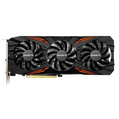 Фото Видеокарта Gigabyte GeForce GTX 1070 TI Gaming OC 8192MB (GV-N107TGAMING OC-8GD)