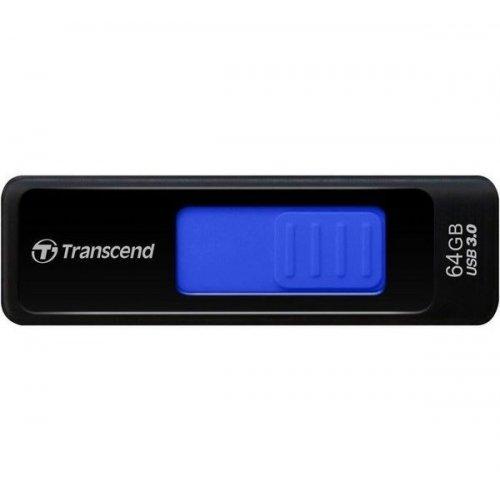 Фото Накопитель Transcend JetFlash 760 USB 3.0 64GB Black (TS64GJF760)