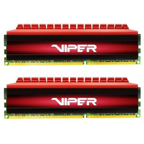 Фото Patriot DDR4 16GB (2x8GB) 3000Mhz Viper 4 Red (PV416G300C6K)