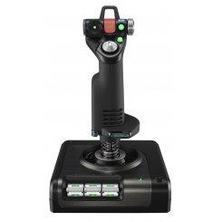 Фото Игровые манипуляторы Logitech X52 PROFESSIONAL H.O.T.A.S. (945-000003) Black