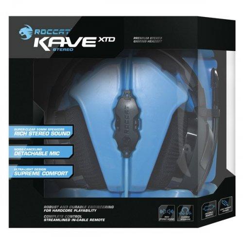 Фото Игровые наушники Roccat Kave XTD Stereo (ROC-14-610) Black