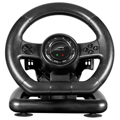 Фото Игровые манипуляторы Speedlink Bolt Racing Wheel PC (SL-650300-BK) Black