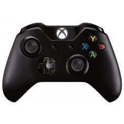 Фото Игровые манипуляторы Microsoft Xbox One Wireless Controller (6CL-00002) Black
