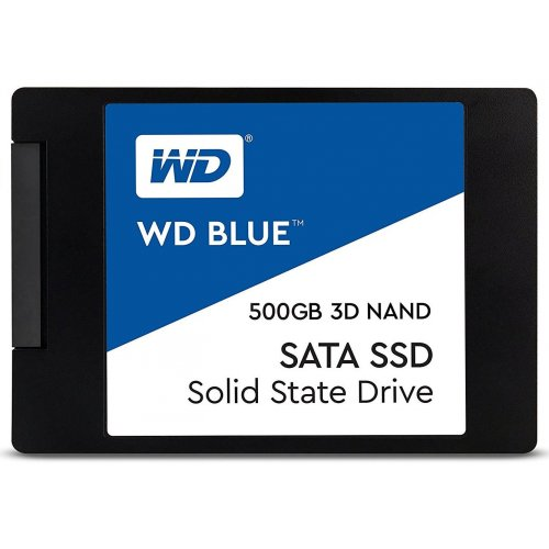 Фото Western Digital Blue 3D NAND TLC 500GB 2.5