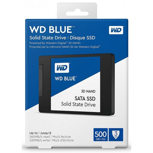 Фото Western Digital Blue 3D NAND TLC 500GB 2.5