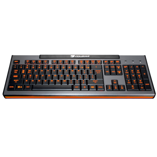 Фото Игровая клавиатура Cougar 200K Membrane Black