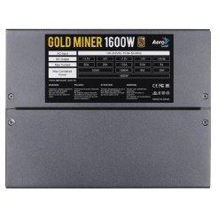 Фото Блок питания Aerocool Gold Miner 1600W (ACPG-GMK6FEY.11)