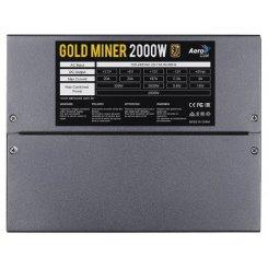 Фото Блок питания Aerocool Gold Miner 2000W (ACPG-GM2KFEY.11)