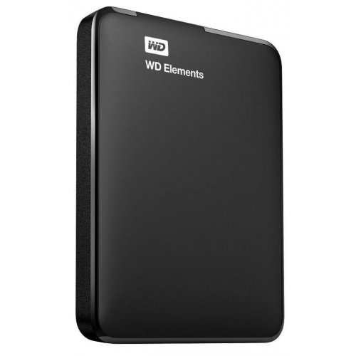 Фото Внешний HDD Western Digital Elements 1TB (WDBUZG0010BBK-WESN) Black