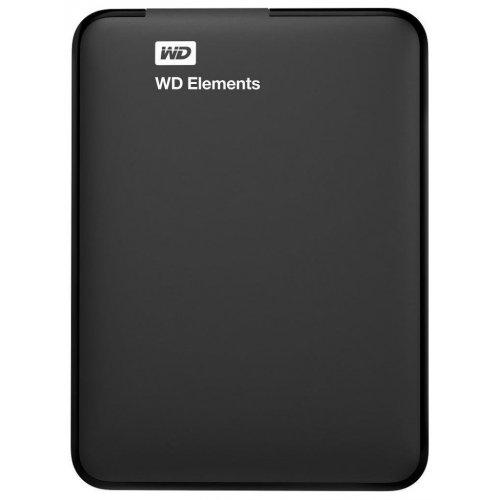Фото Внешний HDD Western Digital Elements 500GB (WDBUZG5000ABK-WESN) Black
