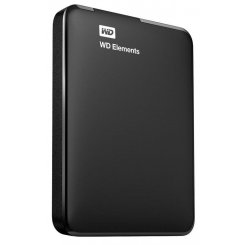 Фото Внешний HDD Western Digital Elements 500GB (WDBUZG5000ABK-WESN) Black