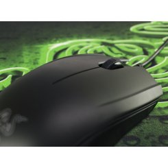 Фото Мышка Razer Abyssus Goliathus + коврик (RZ83-02020100-B3M1) Black/Green