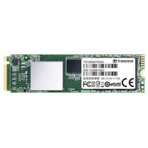 Фото SSD-диск Transcend MTE820 TLC 128GB M.2 (2280 PCI-E) NVMe x4 (TS128GMTE820)