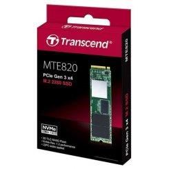 Фото SSD-диск Transcend MTE820 TLC 256GB M.2 (2280 PCI-E) NVMe x4 (TS256GMTE820)