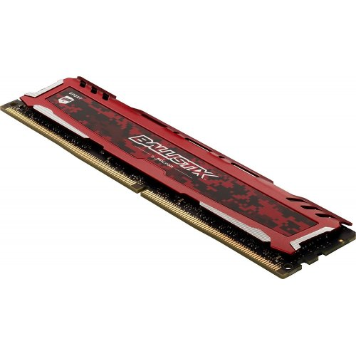 Фото ОЗУ Crucial DDR4 8GB 2666Mhz Ballistix Sport LT (BLS8G4D26BFSEK) Red