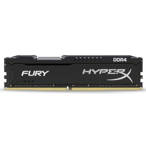 Фото ОЗУ Kingston DDR4 32GB (2x16GB) 2666Mhz HyperX FURY (HX426C16FBK2/32) Black