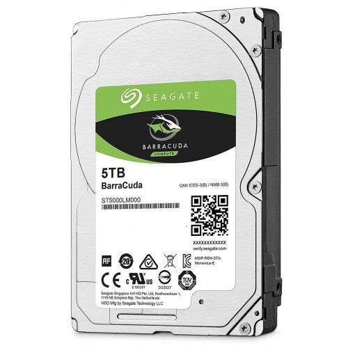 Фото Жесткий диск Seagate BarraCuda 5TB 128MB 5400RPM 2.5