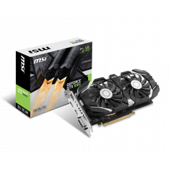Фото Видеокарта MSI Geforce GTX 1060 OC 3072MB (GTX 1060 3GT OC)