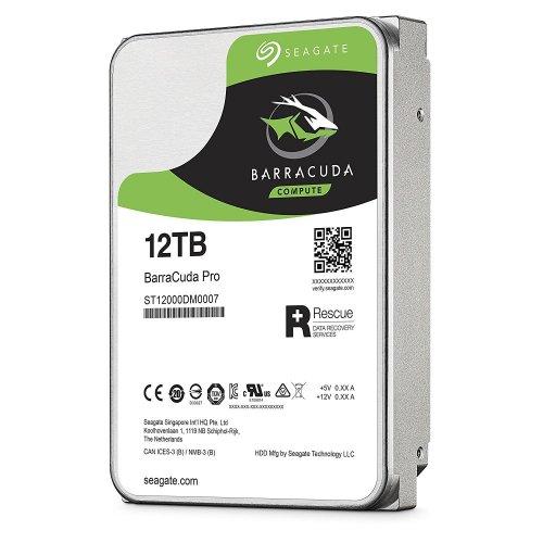 Фото Жесткий диск Seagate BarraCuda Pro 12TB 256MB 7200RPM 3.5