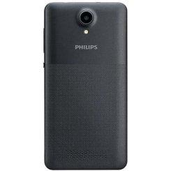 Фото Смартфон Philips Xenium S318 Dual Sim Dark Grey