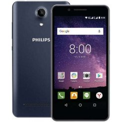 Фото Смартфон Philips Xenium S327 Dual Sim Blue