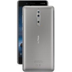 Фото Смартфон Nokia 8 Dual Sim Steel