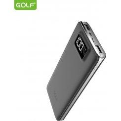 Фото Универсальный аккумулятор Golf LCD120 12000 mAh Gray