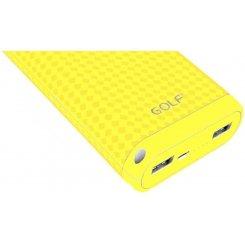 Фото Универсальный аккумулятор Golf D200 20000mAh Yellow