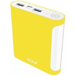 Фото Универсальный аккумулятор Golf GF-D14GB 10000 mAh Yellow