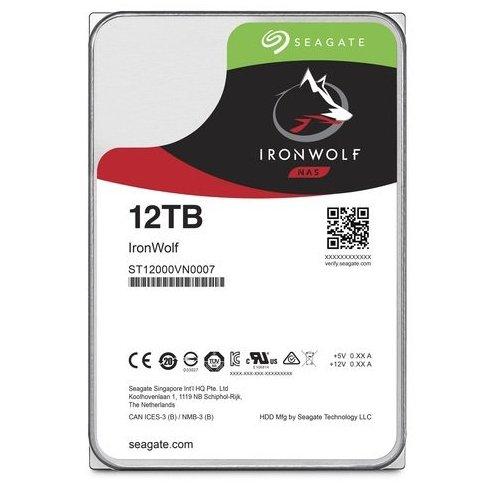 Фото Жесткий диск Seagate IronWolf 12TB 256MB 7200RPM 3.5