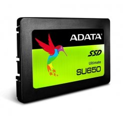 Фото SSD-диск ADATA Ultimate SU650 3D NAND TLC 120GB 2.5