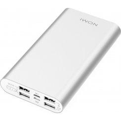 Фото Универсальный аккумулятор Nomi E150 15000mAh (260727) Silver